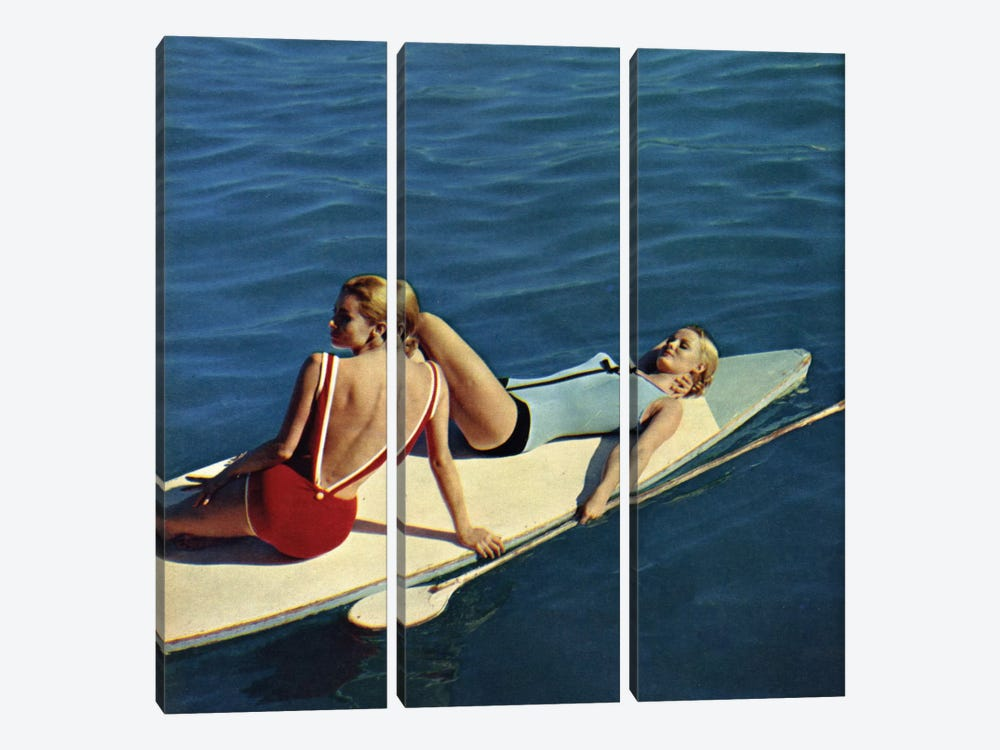 Tanning Boards by Hemingway Design 3-piece Art Print