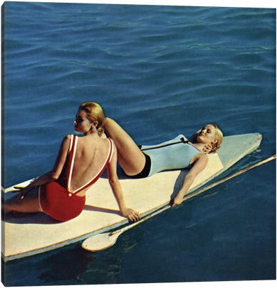 Tanning Boards Canvas Art Print