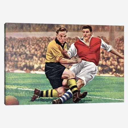 The Beautiful Game Canvas Print #HEM80} by Hemingway Design Art Print