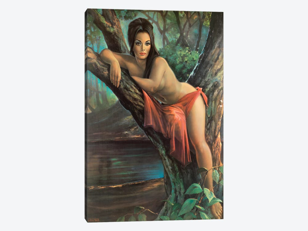Woodland Goddess by Hemingway Design 1-piece Canvas Art Print