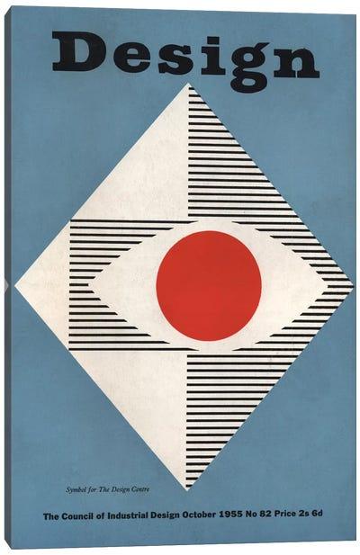 Design Magazine Cover Series: October 1955 Canvas Print #HEM91