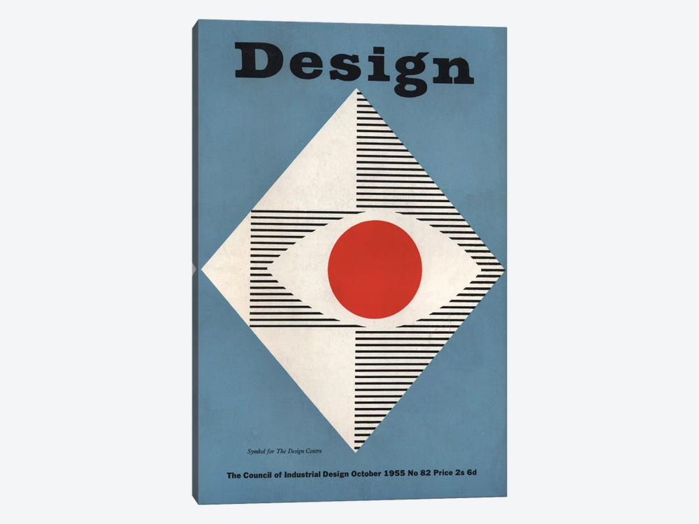 October 1955 by Hemingway Design 1-piece Art Print
