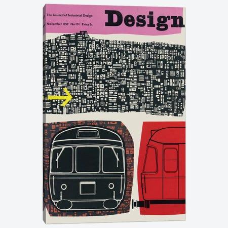 November 1958 Canvas Print #HEM94} by Hemingway Design Canvas Print