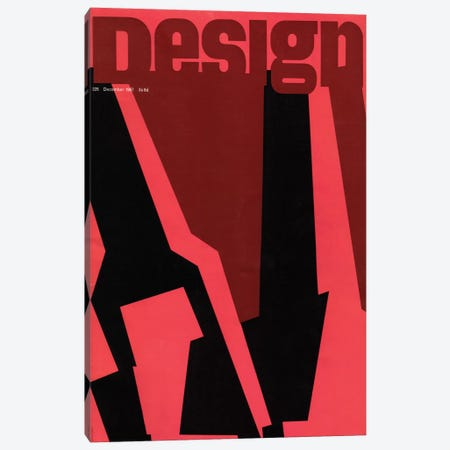 December 1967 Canvas Print #HEM95} by Hemingway Design Art Print