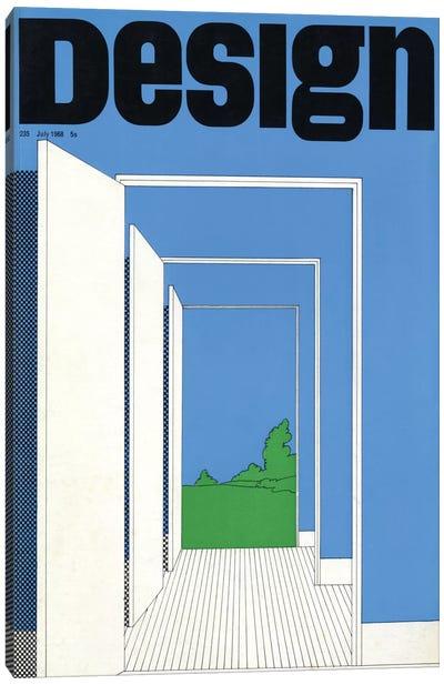 Design Magazine Cover Series: July 1968 Canvas Print #HEM97