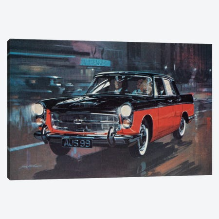 AUS 99 Supercar 3-Piece Canvas #HEM9} by Hemingway Design Canvas Artwork