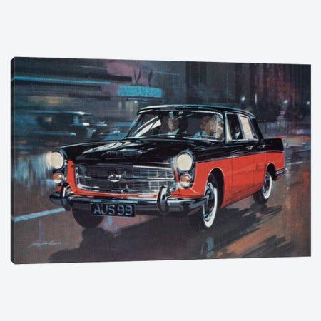 AUS 99 Supercar Canvas Print #HEM9} by Hemingway Design Canvas Artwork