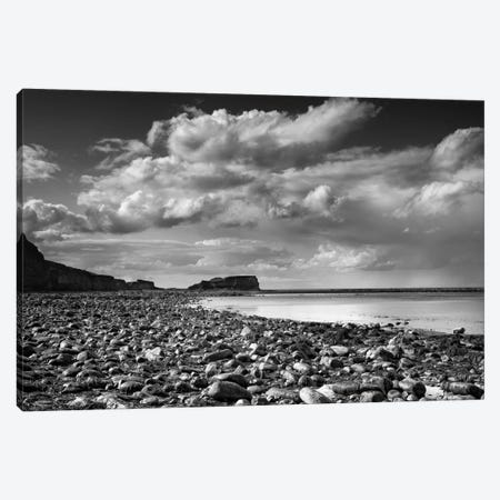 Saltwick Bay Canvas Print #HEN11} by Martin Henson Canvas Art Print