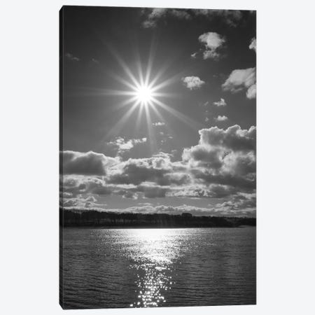 Sun Burst Canvas Print #HEN15} by Martin Henson Canvas Artwork
