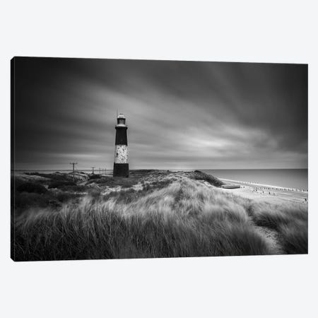 The Lighthouse Canvas Print #HEN17} by Martin Henson Canvas Art