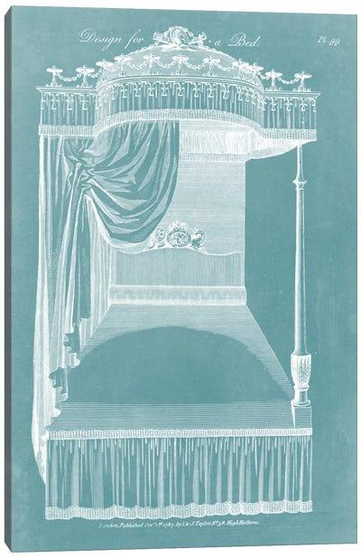 Design For A Bed I Canvas Art Print