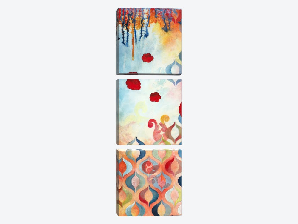 Flourish II by Heather Robinson 3-piece Canvas Art