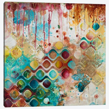 For The Sake Of Richness Canvas Print #HER14} by Heather Robinson Canvas Artwork