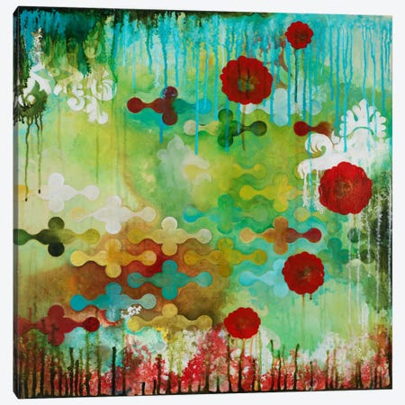 Happy Interruption Canvas Print #HER15} by Heather Robinson Canvas Artwork