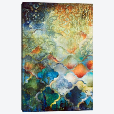 Moroccan Fantasy I Canvas Print #HER18} by Heather Robinson Art Print