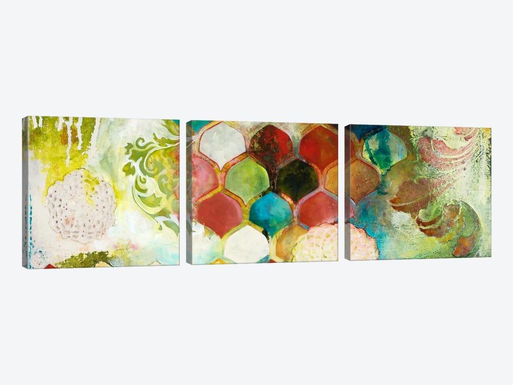 Abundance I by Heather Robinson 3-piece Canvas Art Print