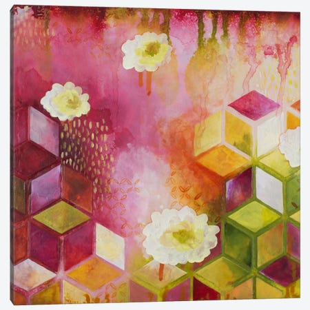 Path Of Reflection II Canvas Print #HER25} by Heather Robinson Art Print