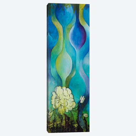 Pond Dripples I Canvas Print #HER29} by Heather Robinson Canvas Art