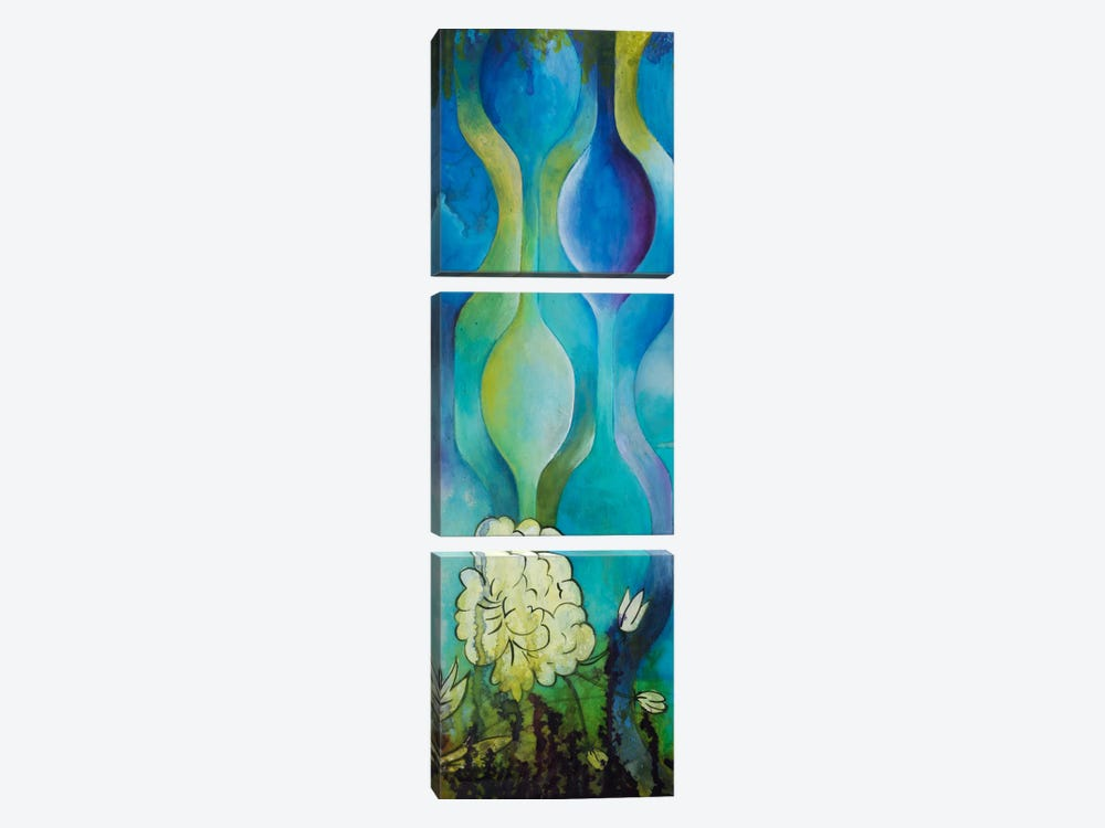 Pond Dripples I by Heather Robinson 3-piece Canvas Print