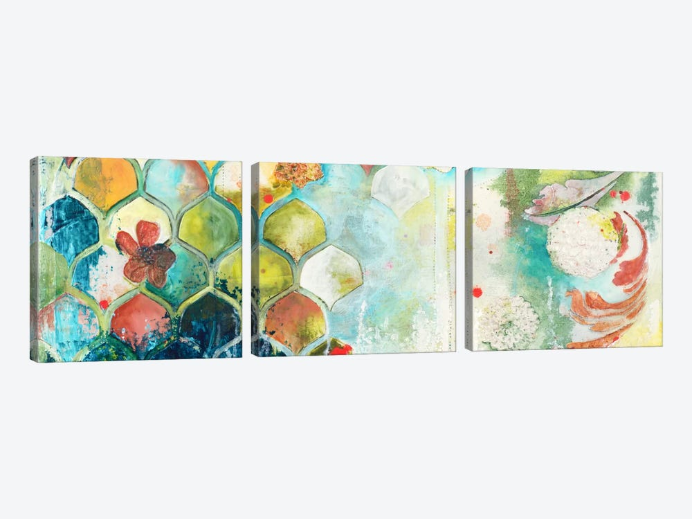Abundance II by Heather Robinson 3-piece Canvas Artwork