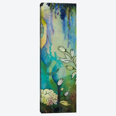 Pond Dripples II Canvas Print #HER30} by Heather Robinson Art Print