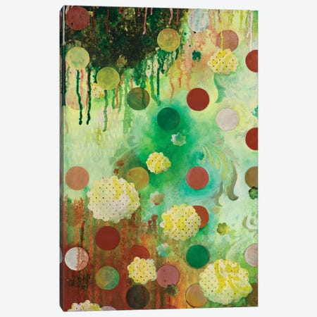 Floating Jade Garden I 3-Piece Canvas #HER39} by Heather Robinson Canvas Print