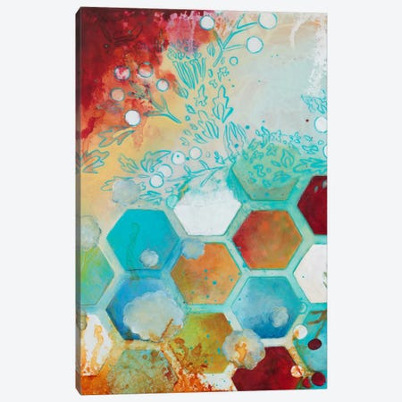 Aflutter I Canvas Print #HER3} by Heather Robinson Canvas Art
