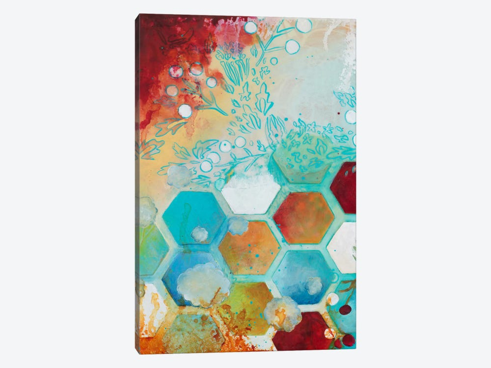 Aflutter I by Heather Robinson 1-piece Canvas Art Print