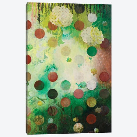 Floating Jade Garden II Canvas Print #HER40} by Heather Robinson Canvas Art