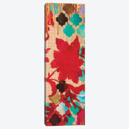 Red & Teal Gilded Age I Canvas Print #HER49} by Heather Robinson Canvas Art