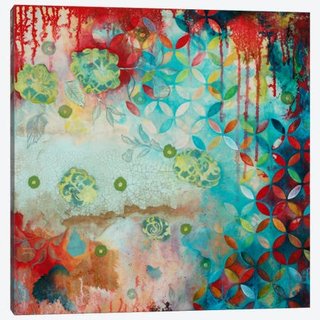Counting Myself Lucky Canvas Print #HER6} by Heather Robinson Canvas Art Print
