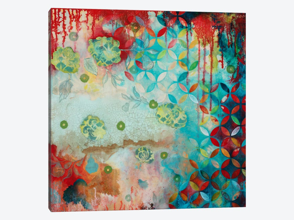 Counting Myself Lucky by Heather Robinson 1-piece Canvas Artwork