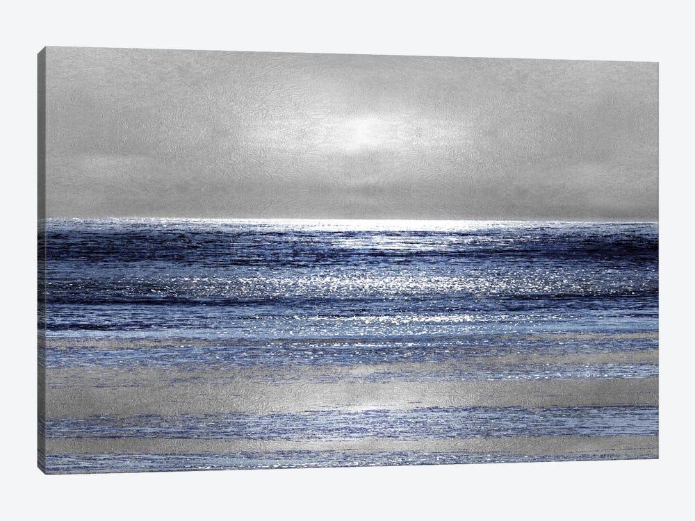 Silver Seascape II by Michelle Matthews 1-piece Art Print
