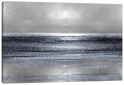 Silver Seascape III Canvas Print #HEW3