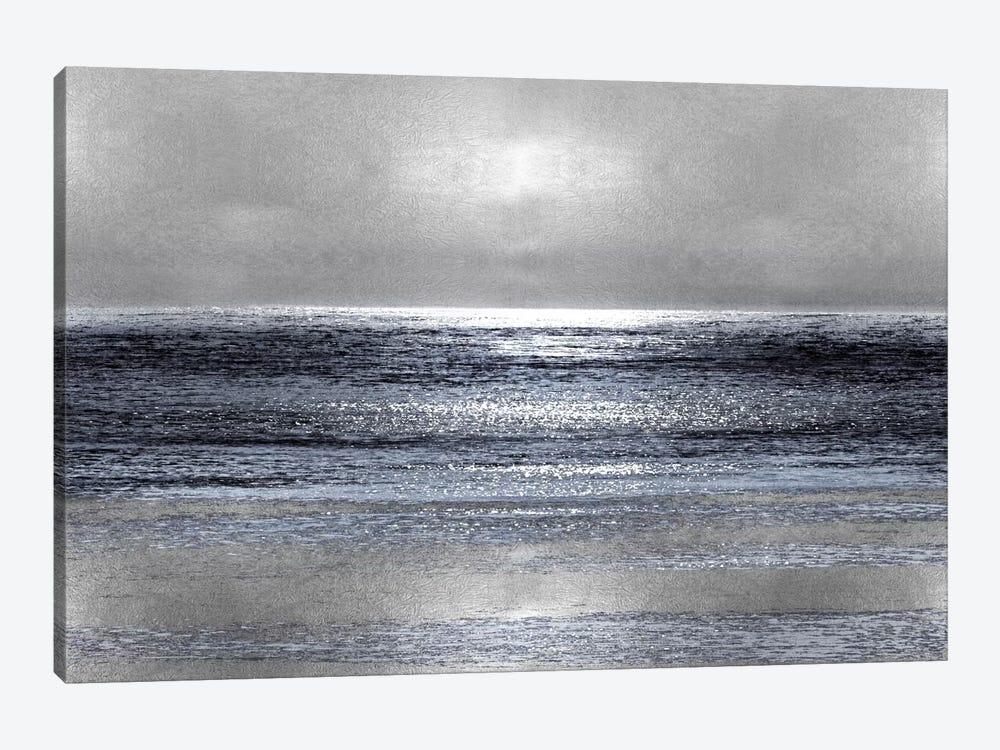 Silver Seascape III by Michelle Matthews 1-piece Canvas Artwork