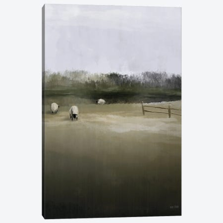 Countryside Flock Canvas Print #HFE104} by House Fenway Canvas Artwork