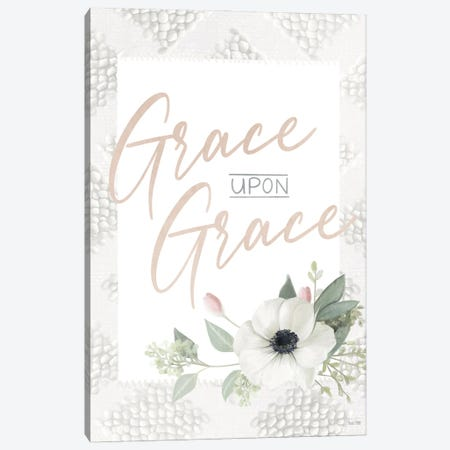 Grace Upon Grace Canvas Print #HFE145} by House Fenway Canvas Artwork