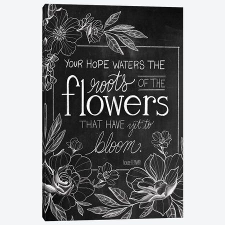 Yet To Bloom Canvas Print #HFE20} by House Fenway Art Print