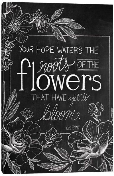 Yet To Bloom Canvas Art Print