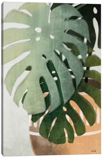 Monstera Leaves Canvas Art Print