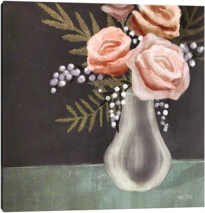 Pink Roses Canvas Art Print