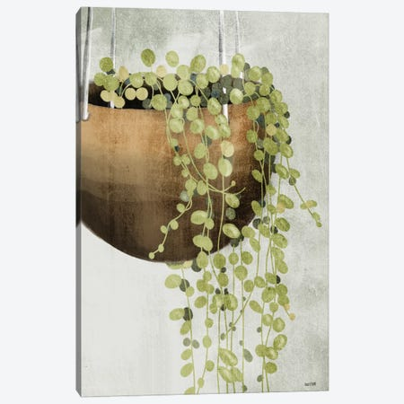 String of Pearls II Canvas Print #HFE24} by House Fenway Canvas Artwork