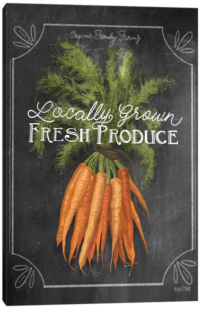 Fresh Carrots Canvas Art Print