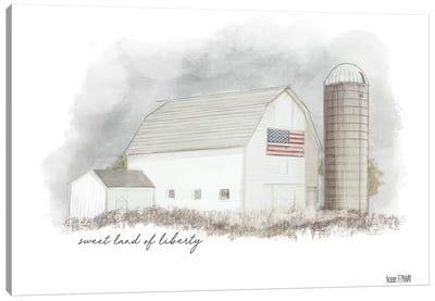 Sweet Liberty Canvas Art Print