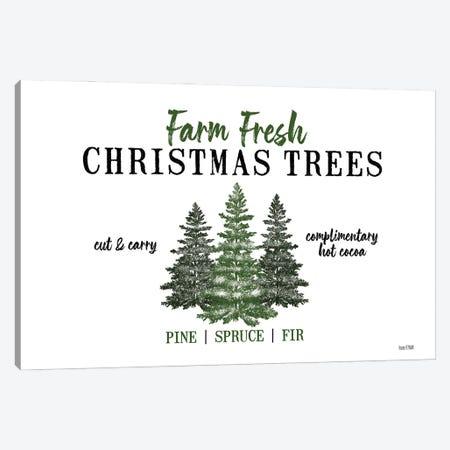 Christmas Tree Farm Canvas Print #HFE41} by House Fenway Canvas Print