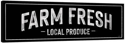 Farm Fresh Local Produce Canvas Art Print