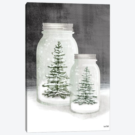 Mason Snowglobes Canvas Print #HFE44} by House Fenway Canvas Artwork