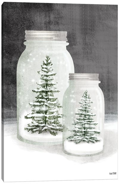 Mason Snowglobes Canvas Art Print