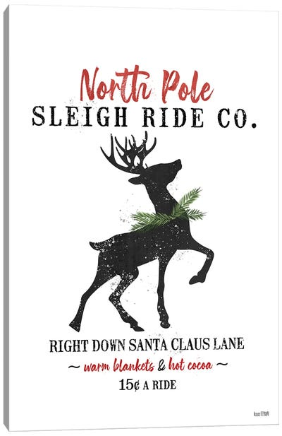 Sleigh Rides Canvas Art Print