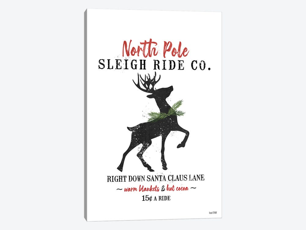 Sleigh Rides by House Fenway 1-piece Canvas Art Print